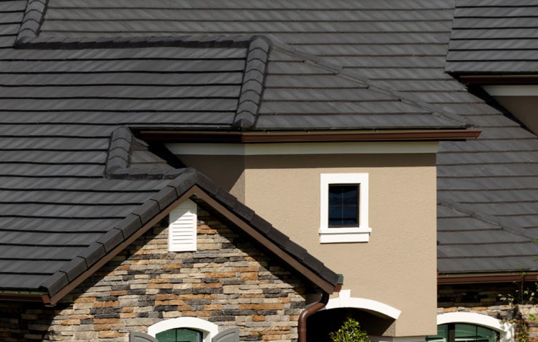 Bel-Air Tile Roof On House