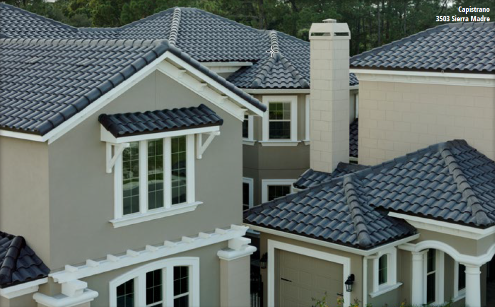 Capistrano Tile Roof On House