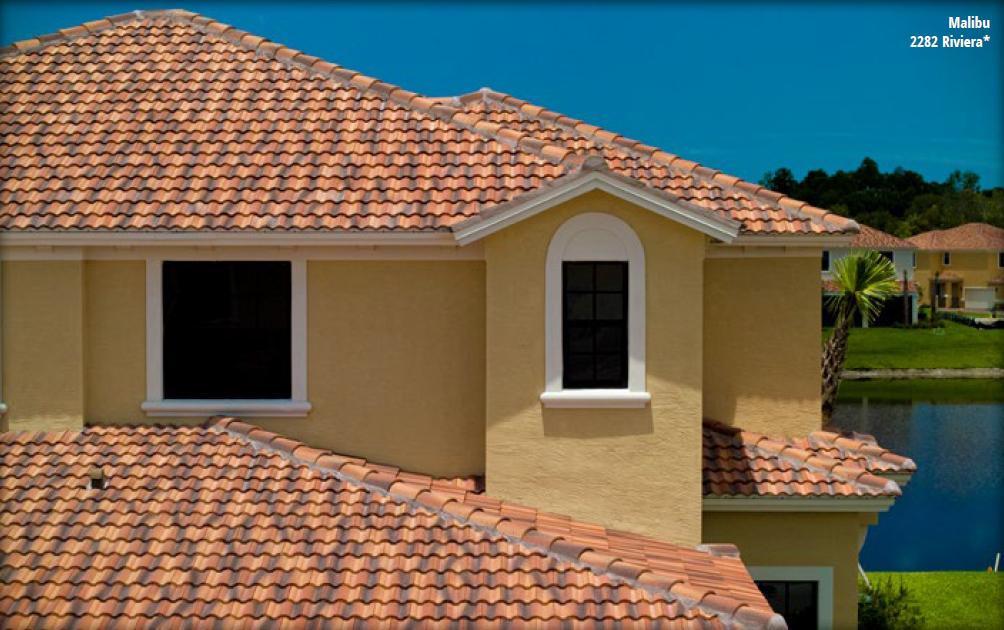 Malibu Tile Roof On House