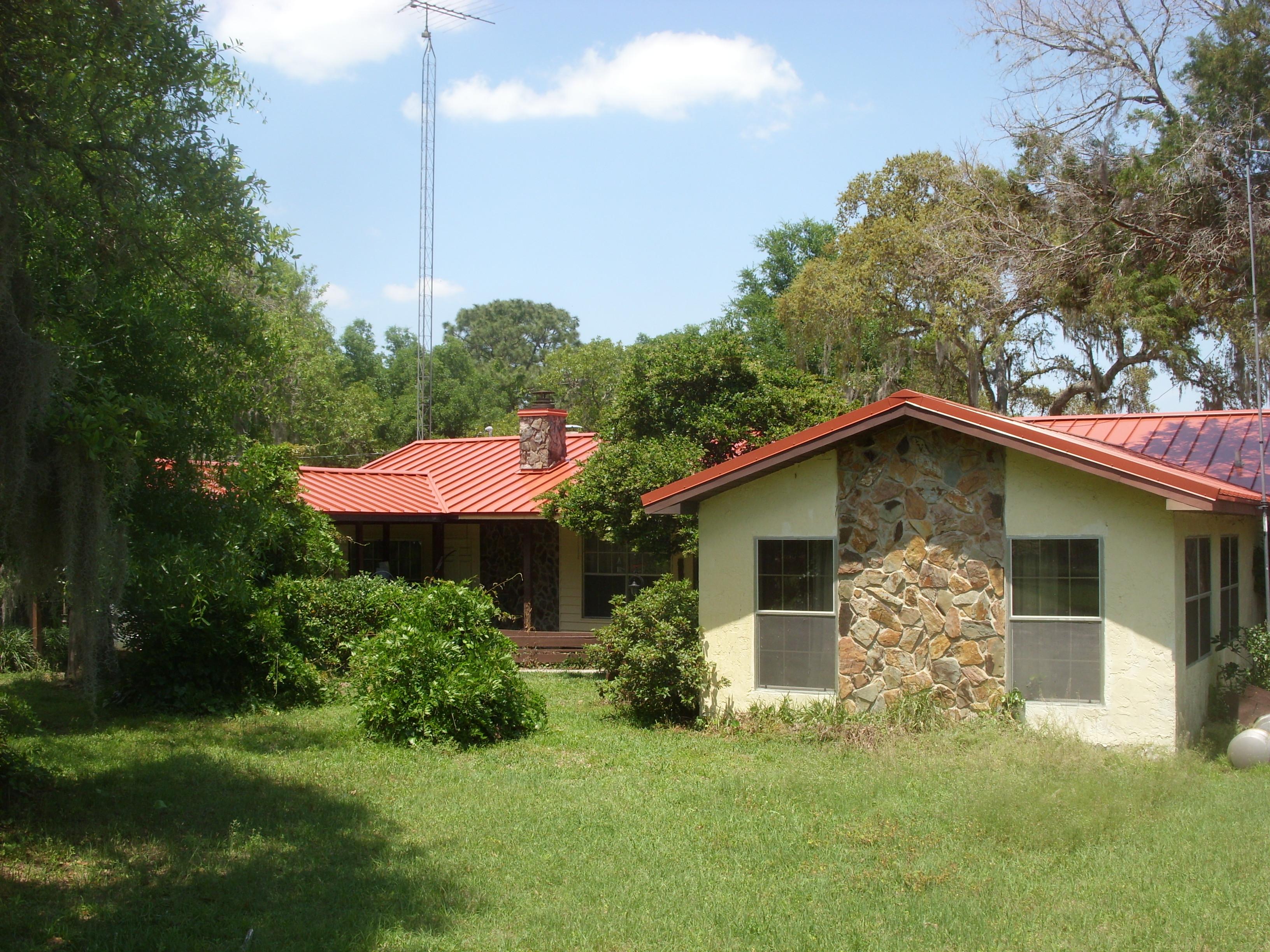 Terra Cotta Metal Roof In Brooksville Florida
