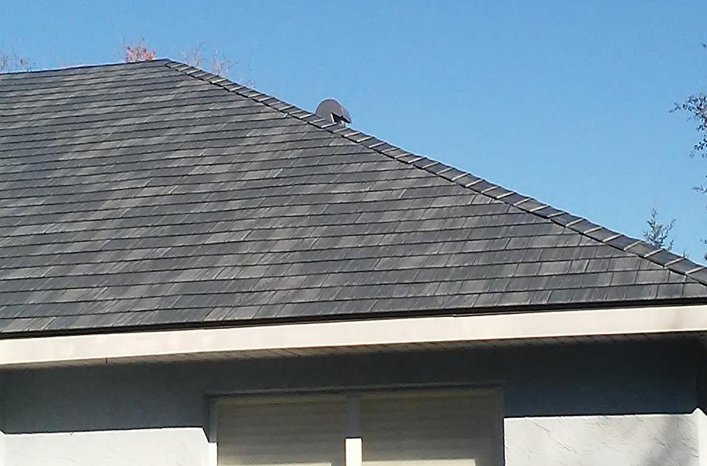 Metal Shingle Roof In Brooksville FL