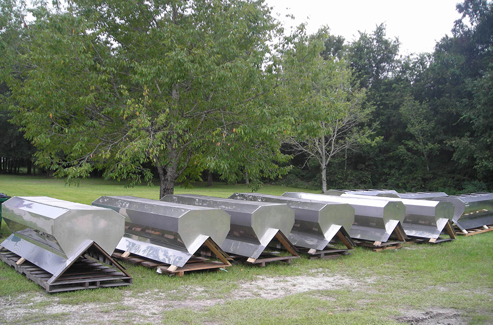 Shop Fabricated Large Stainless Steel Roof Vents