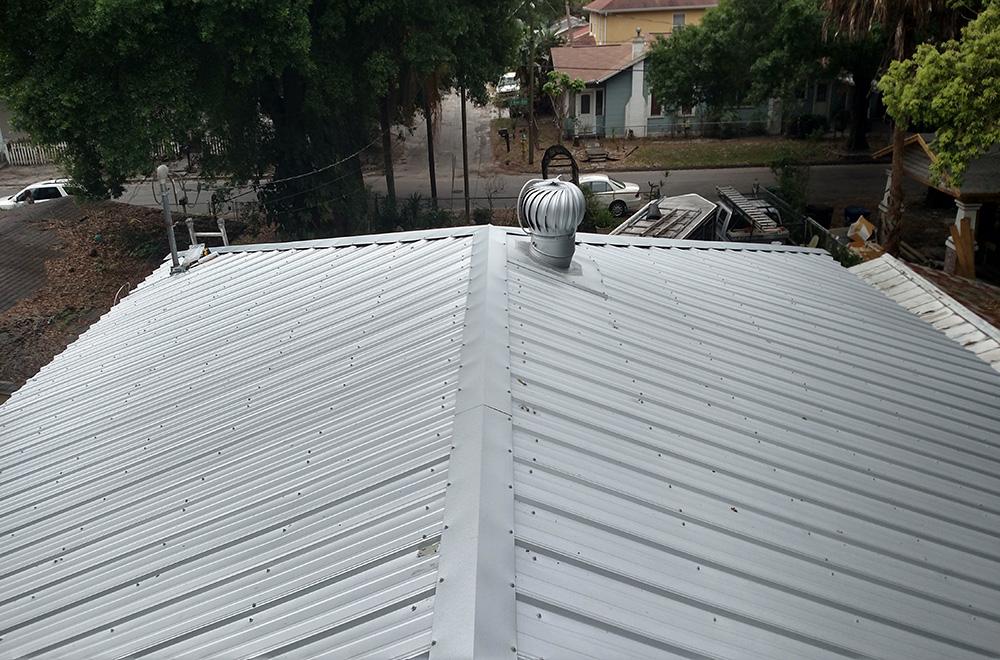 26ga Mil Finish Exposed Fastener Metal Roof