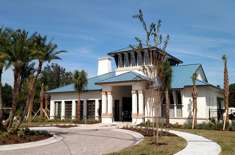 Blue Standing Seam In Palm Harbor FL