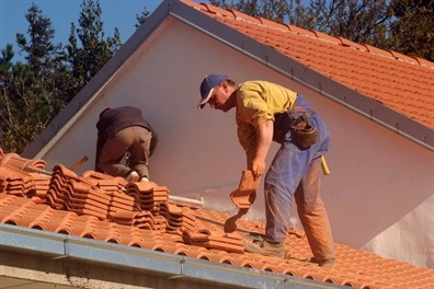 built-up-roof-in