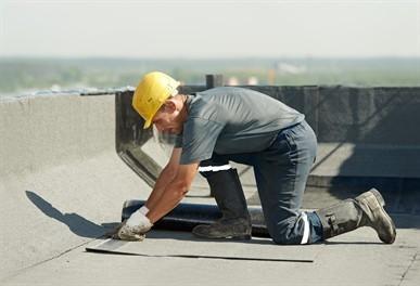flat-metal-roof-in